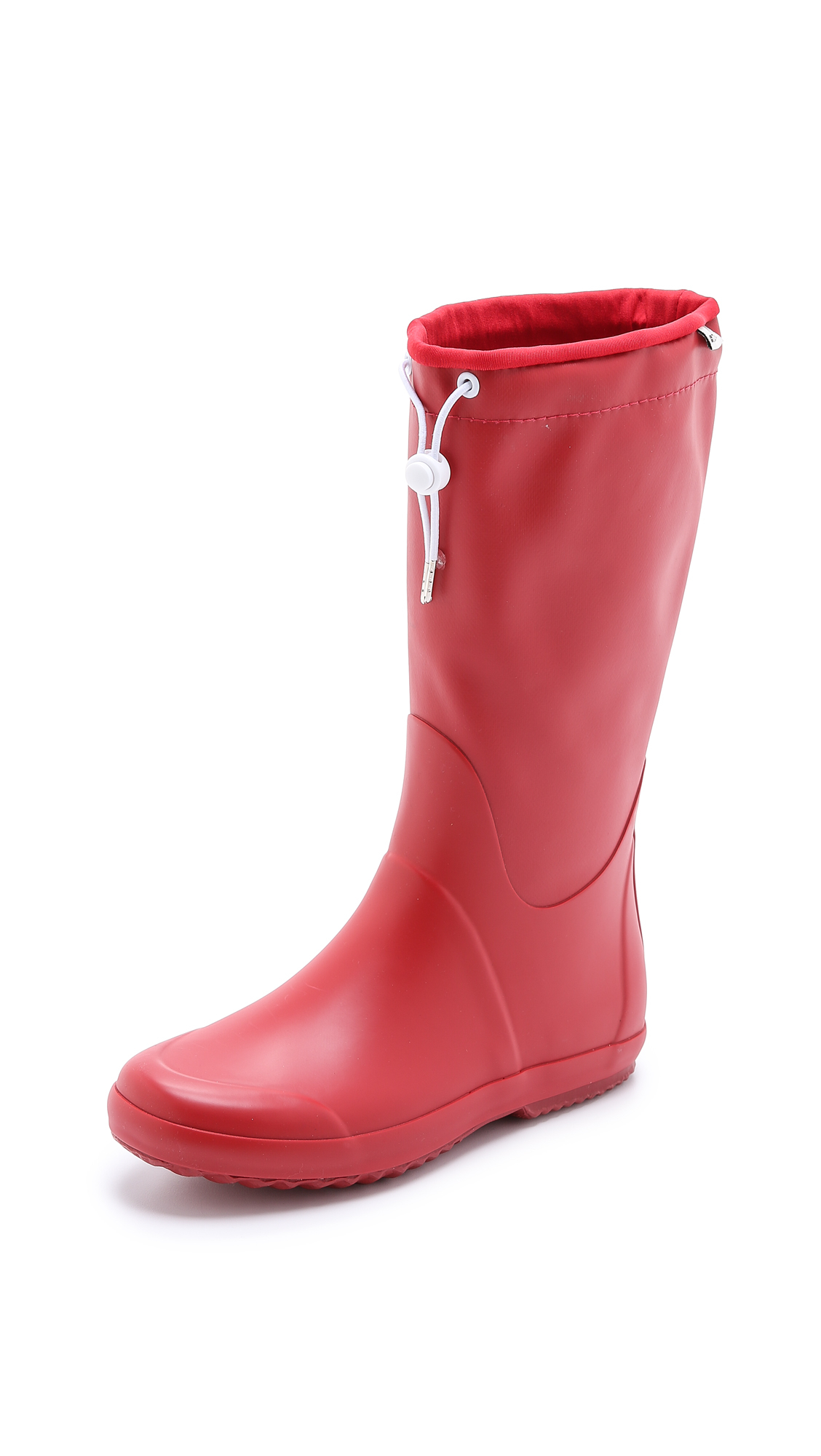 Tretorn Viken Toggle Rubber Boots - Red