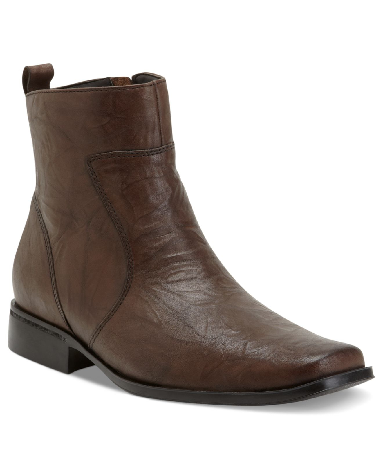 rockport s toloni boots in brown for lyst