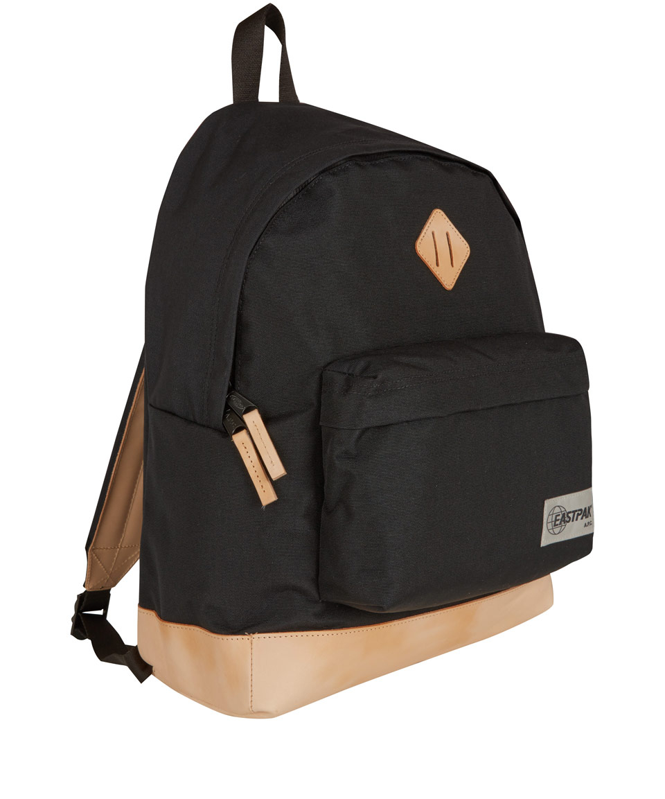 Lyst - A.P.C. Black Eastpak Backpack in Black for Men