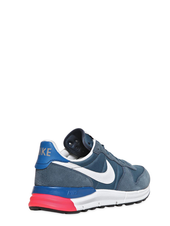 Nike Lunar Internationalist Sneakers in Blue
