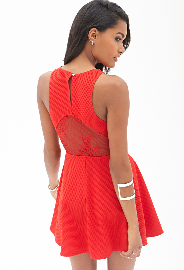 Red dresses at forever 21