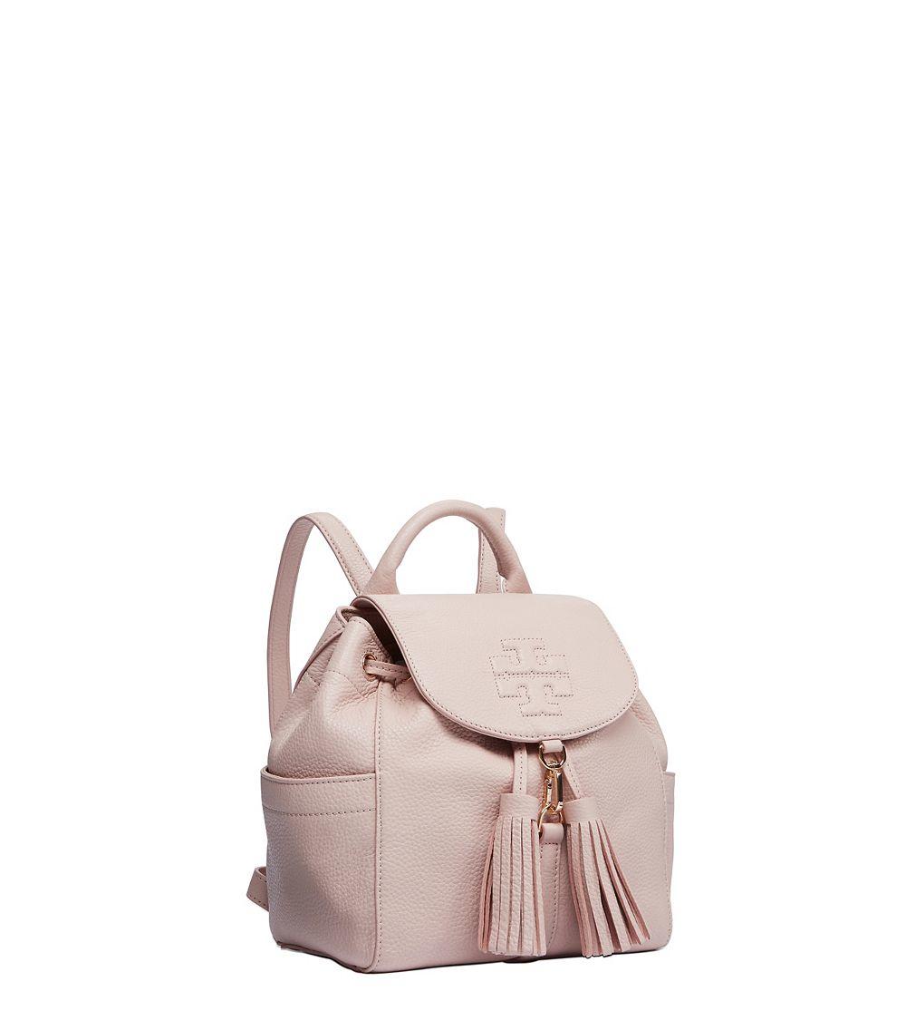 f03cc82b3f9 Tory Burch Natural Thea Mini Backpack
