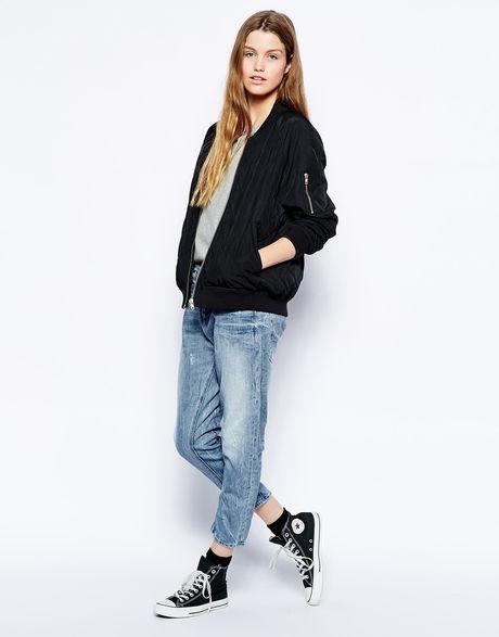 g star raw 3d loose tapered boyfriend jeans in blue. Black Bedroom Furniture Sets. Home Design Ideas