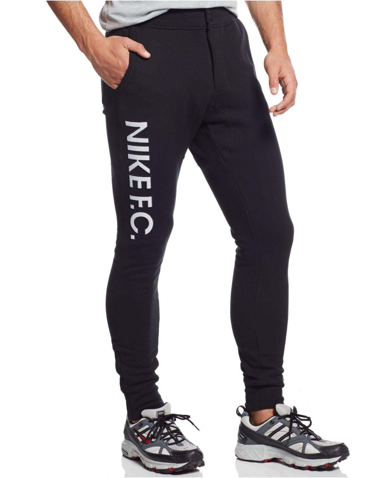 nike f.c. pants (black)