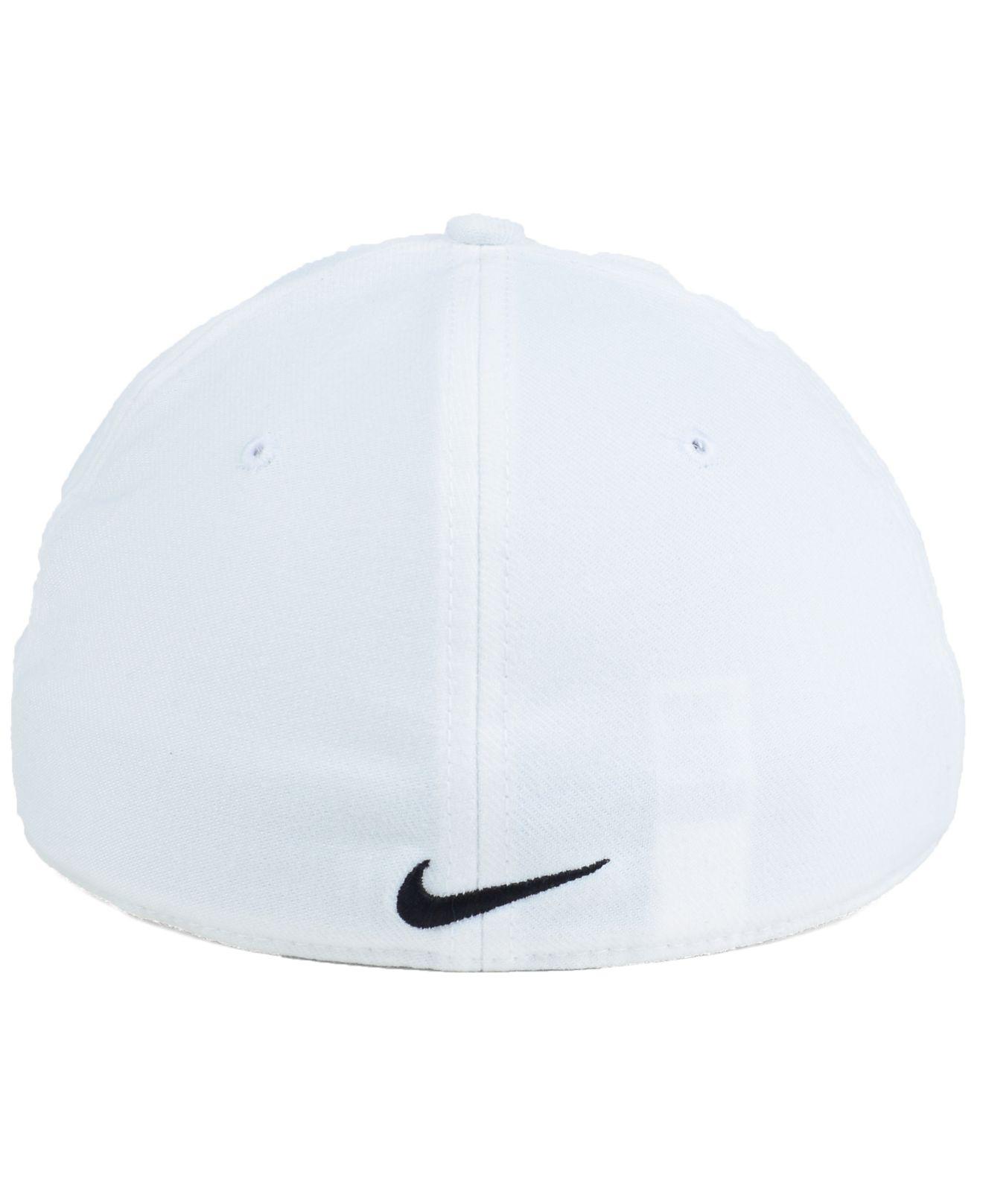 beb319b2b00 ... discount lyst nike colorado buffaloes dri fit swooshflex cap in white  for men 44bda f119e