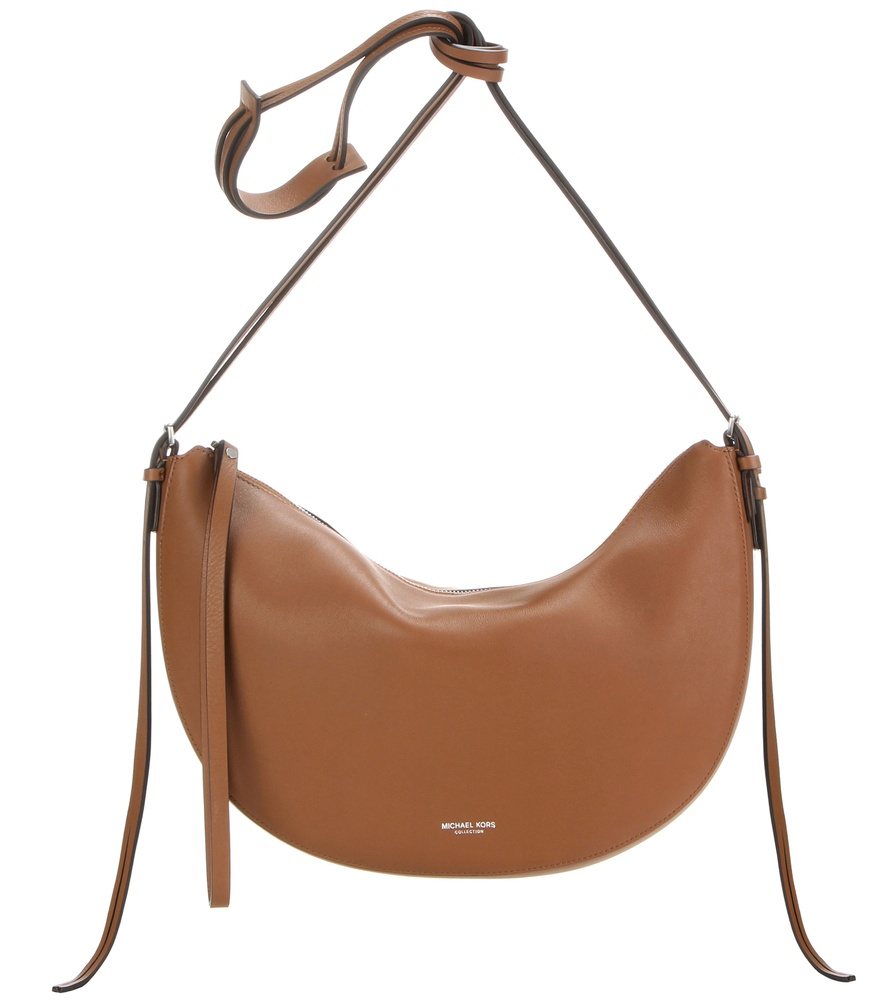 40fad31611ea ... where can i buy lyst michael kors sedona medium leather shoulder bag in  brown 172be eb8cc