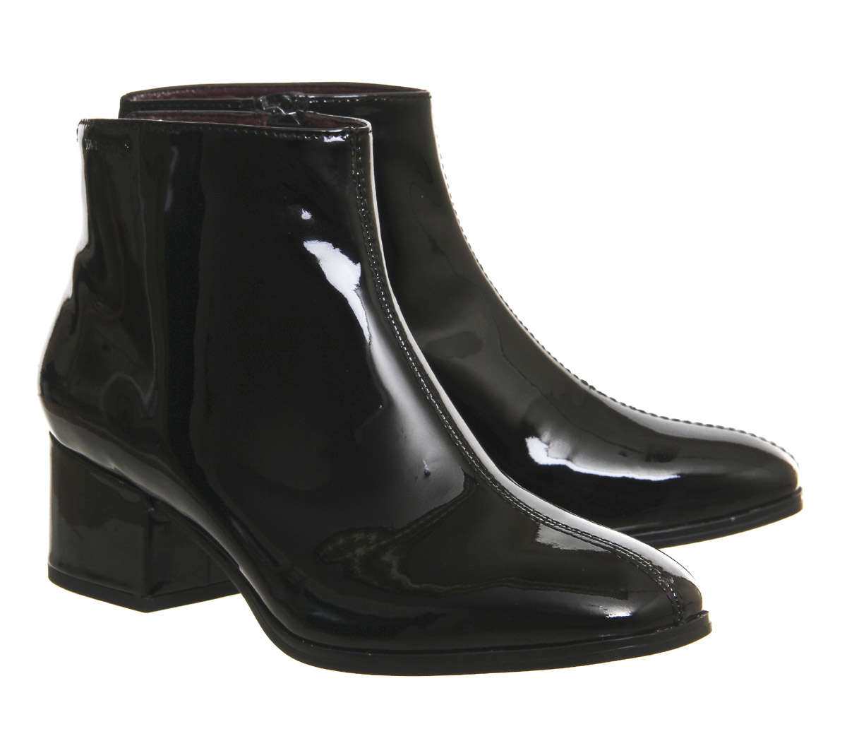 vagabond ankle boots in black lyst