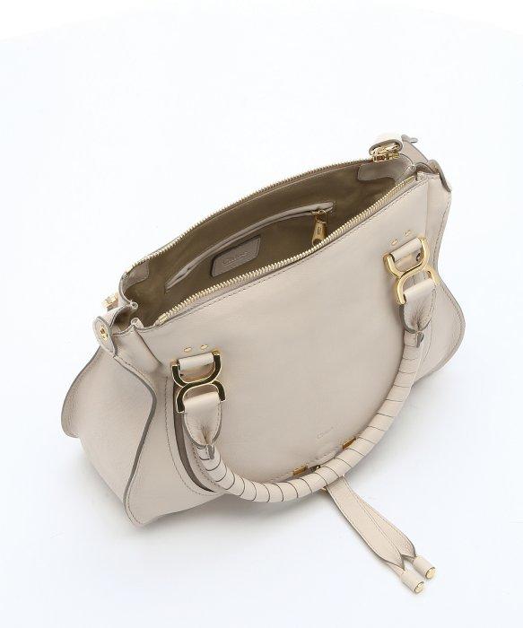 chloe red handbag - Chlo�� Abstract White Calfskin \u0026#39;marcie Nude\u0026#39; Medium Convertible ...