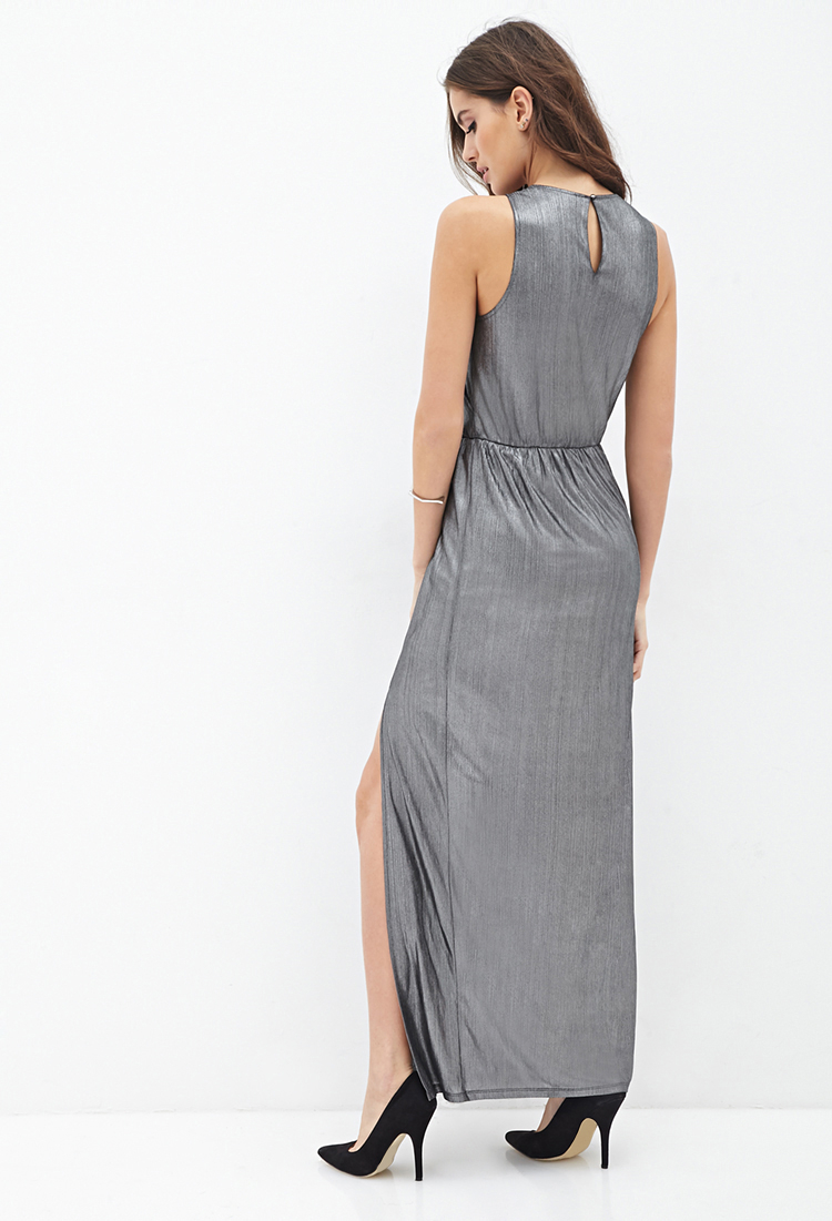 Georgette maxi dress forever 21