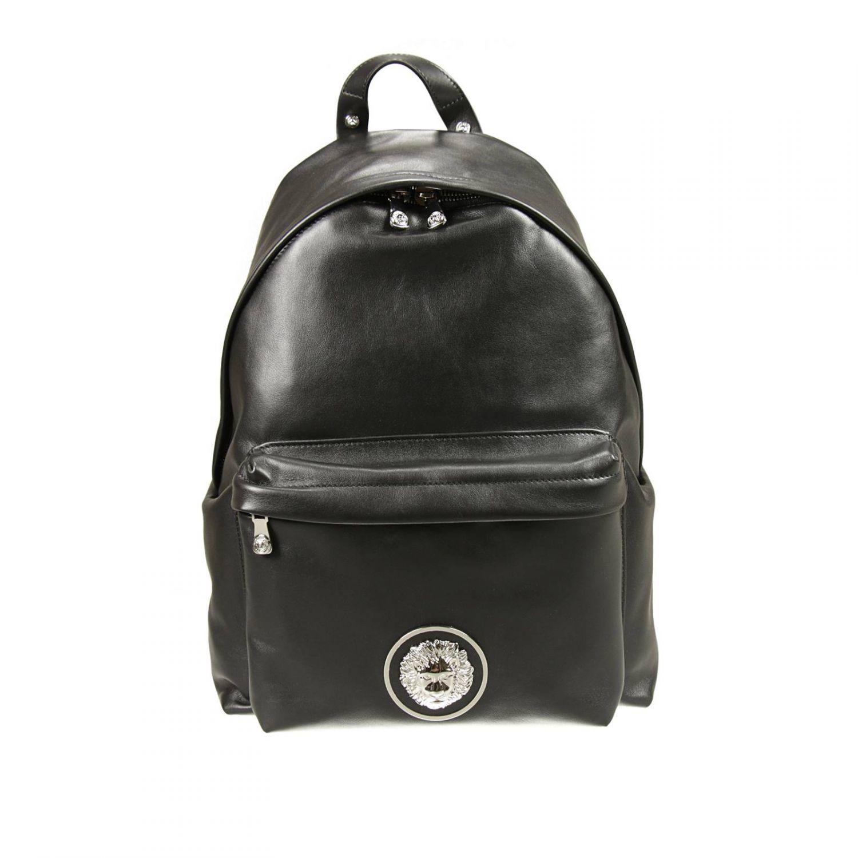Lyst Versus Handbag In Black