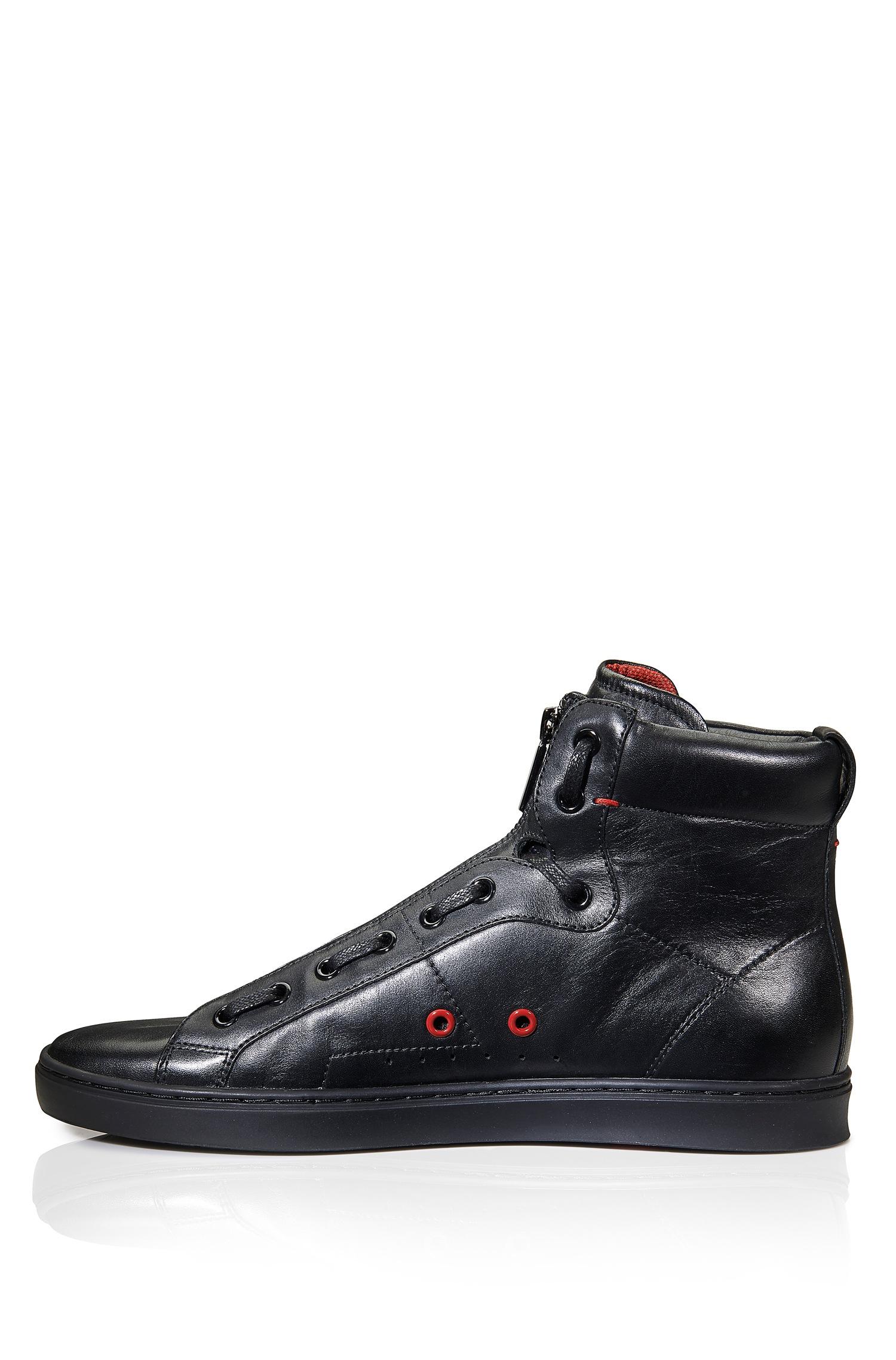 hugo high top sneakers