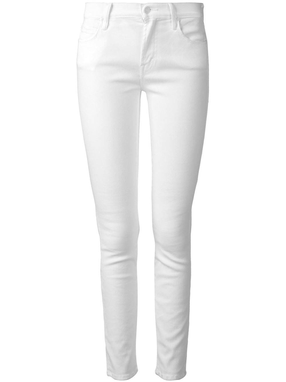 Mother White Jeans