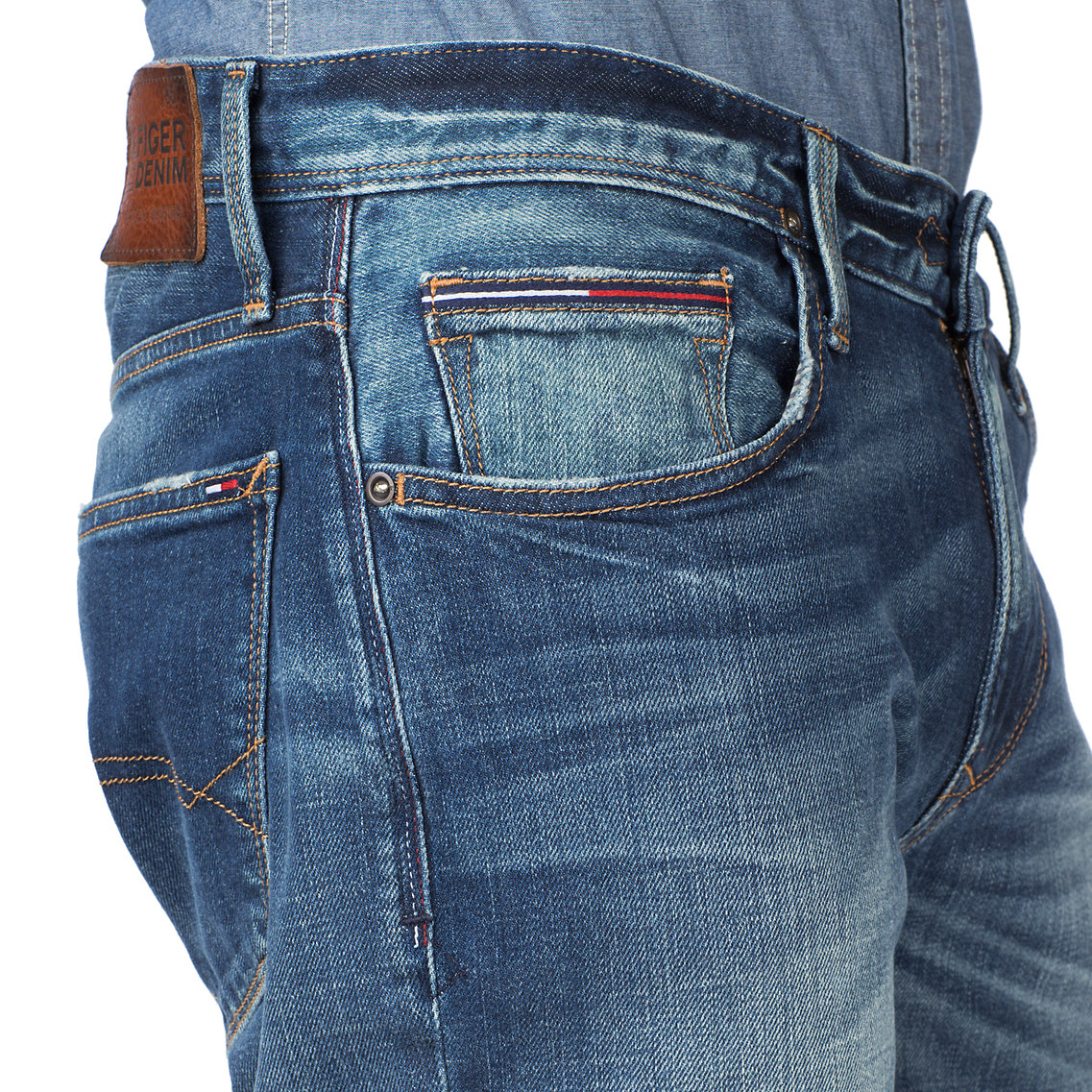 aeed1104c0d5 Tommy Hilfiger Ryan Straight Leg Jeans in Blue for Men - Lyst