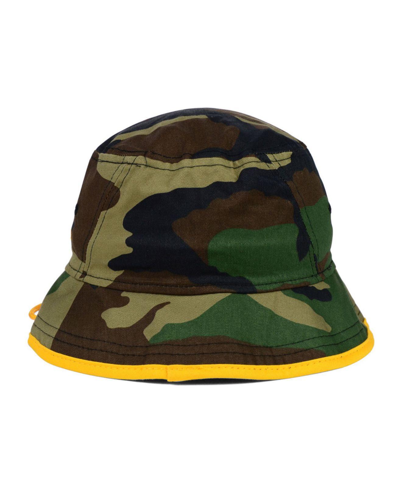 Lyst - KTZ Pittsburgh Steelers Camo Pop Bucket Hat in Green for Men b17d492c3c0