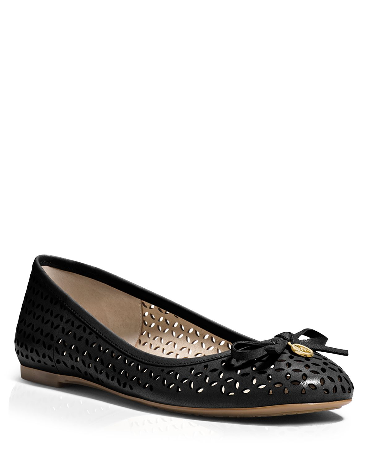 Michael Michael Kors Ballet Flats Olivia Perforated In