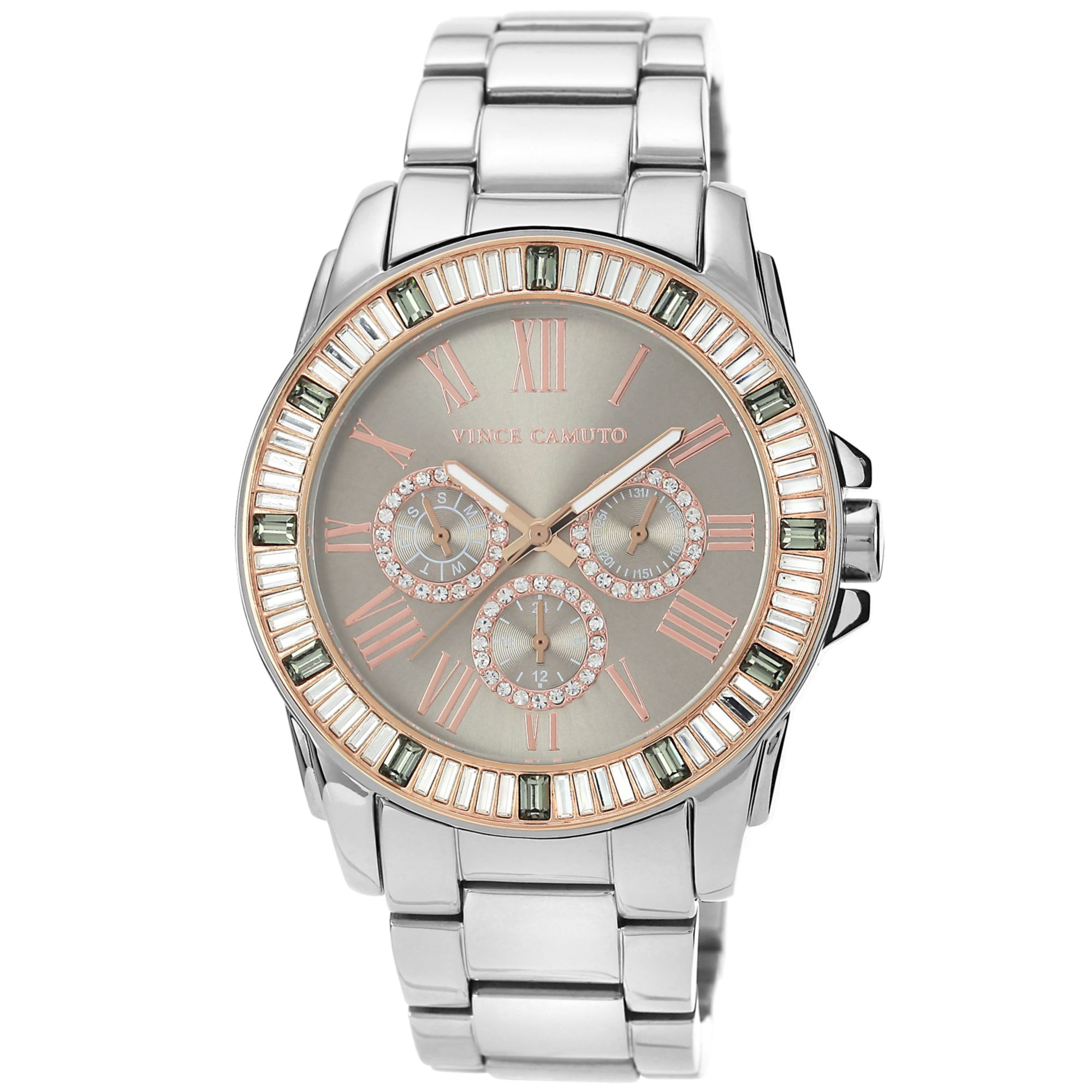 vince camuto womens stainless steel bracelet 43mm vc