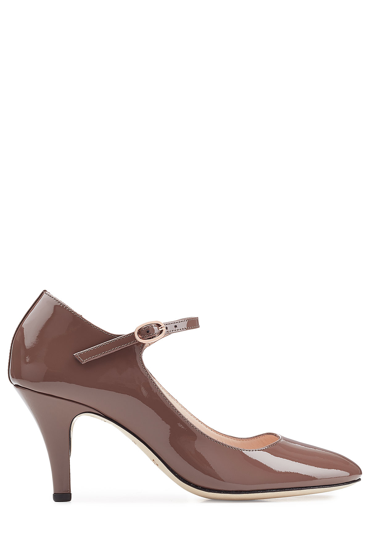 Lyst Repetto Patent Leather Pumps Brown In Brown