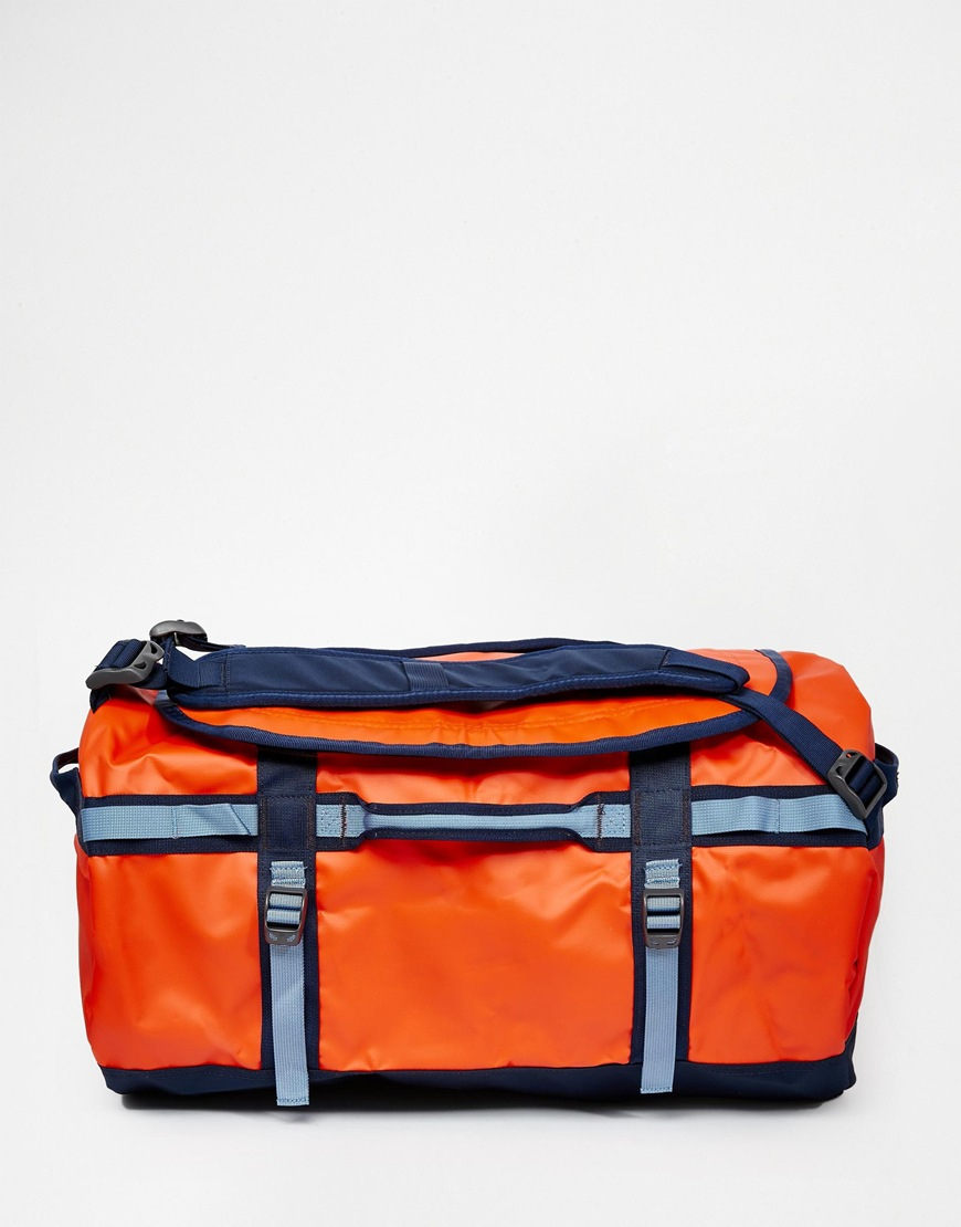 164deb410 The North Face Orange Base Camp Duffle Bag In Small for men