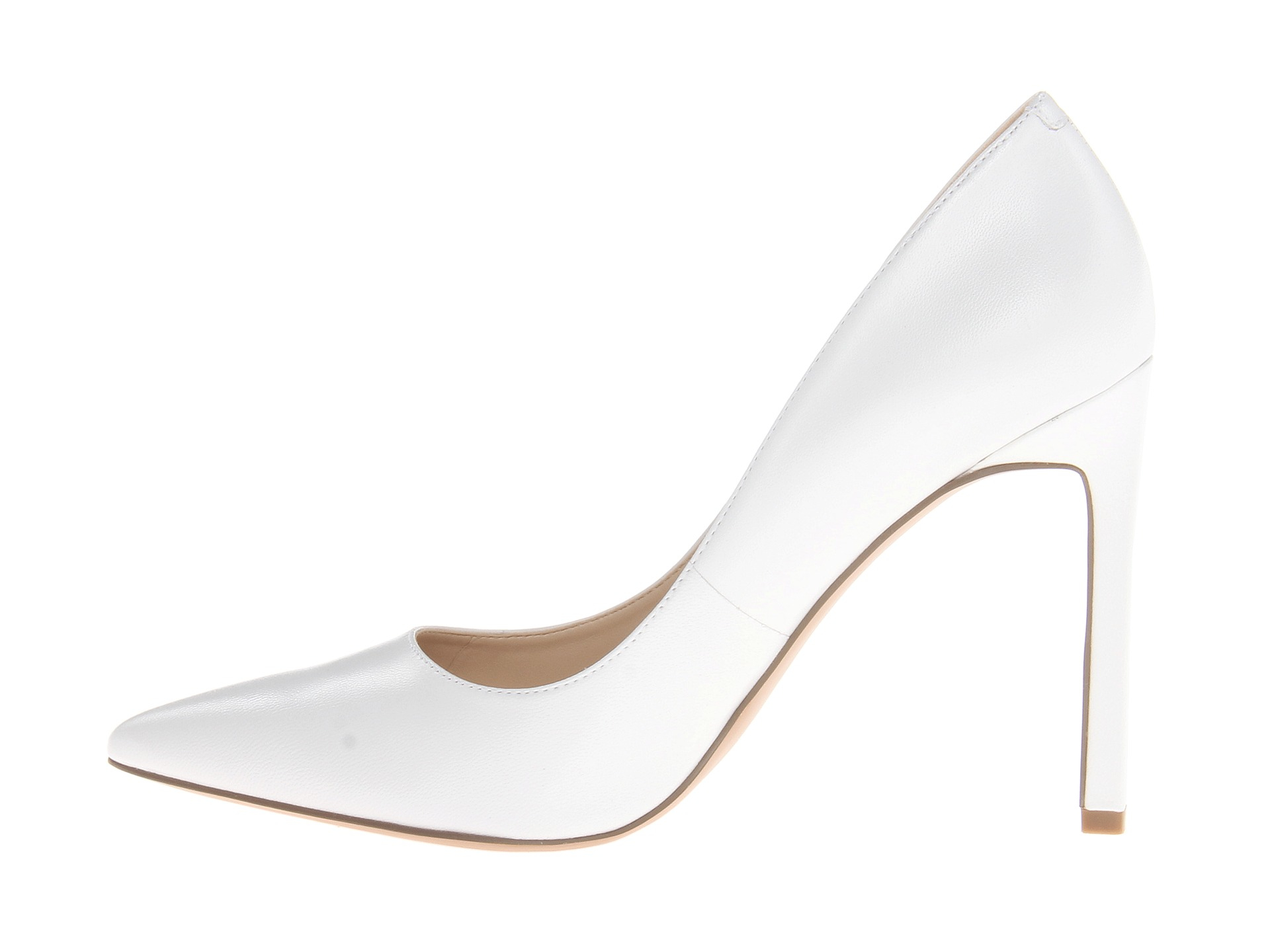 Nine West Tatiana in White Leather