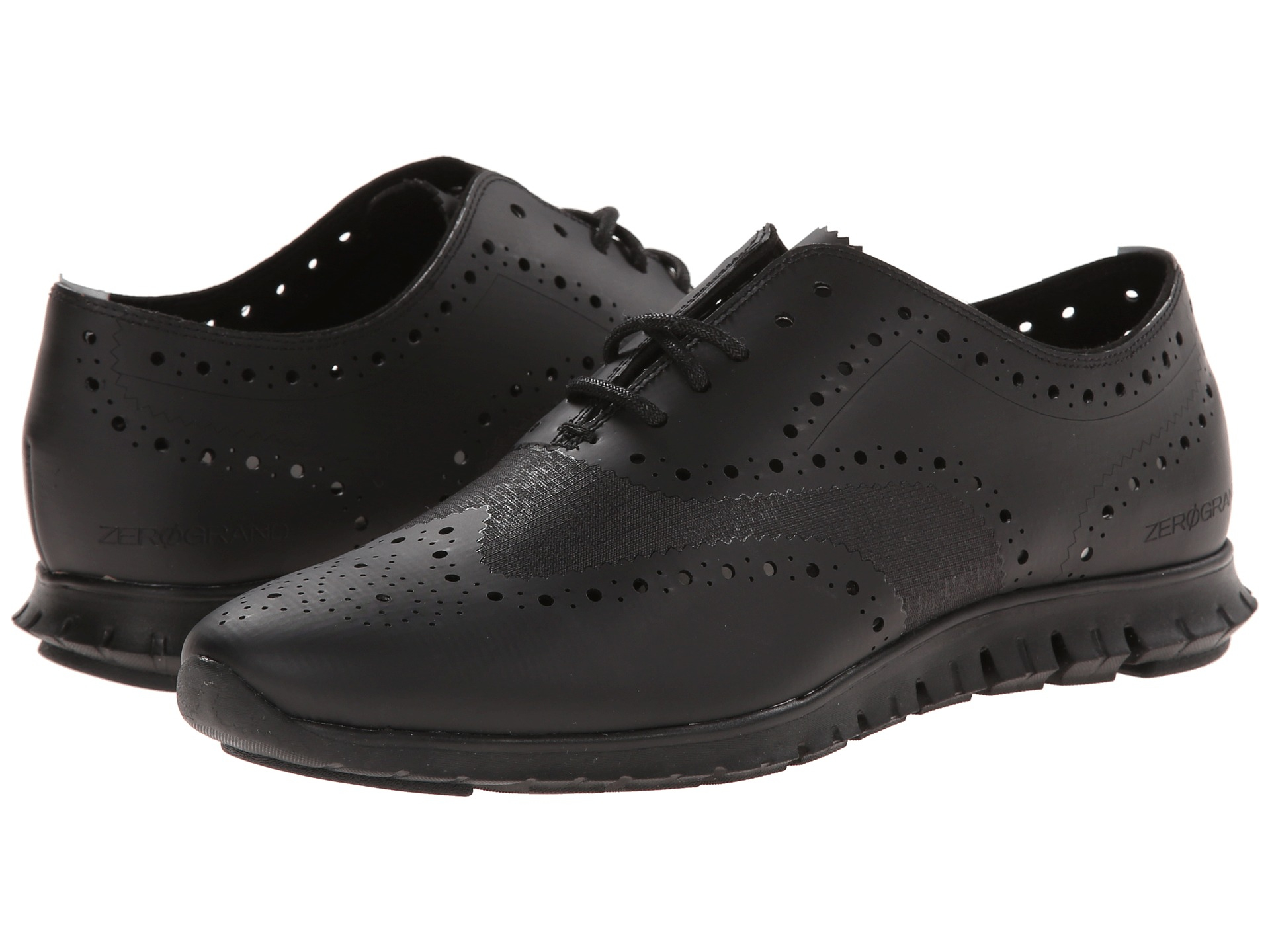 Womens Shoes Cole Haan Zerogrand Oxford No Stitch Black