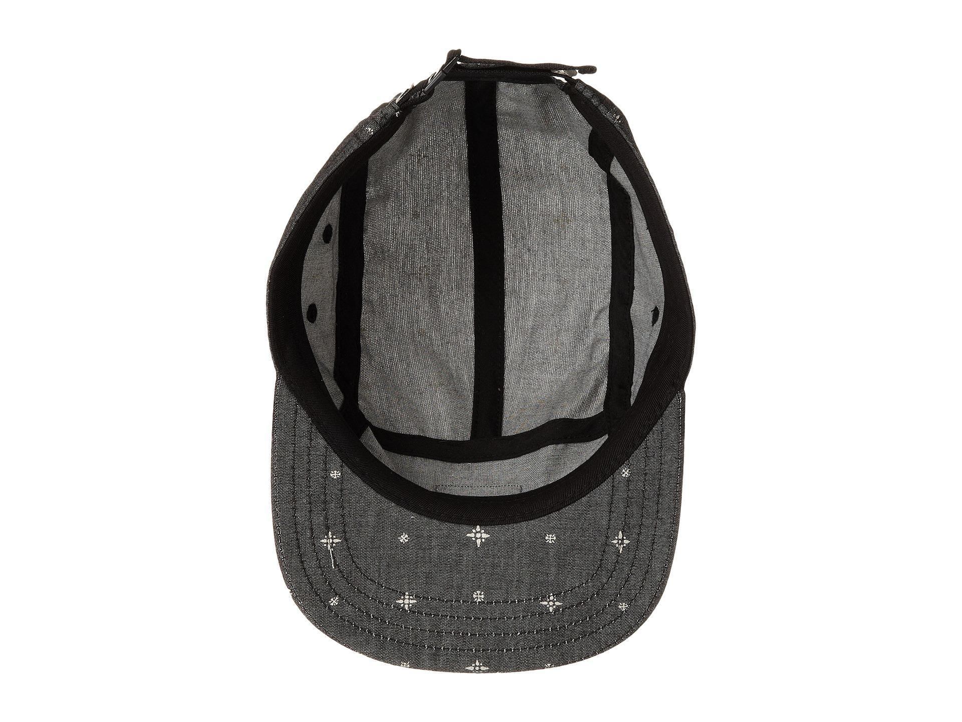 298250a2c61 Lyst - Vans Davis 5-Panel Camper Hat in Black for Men