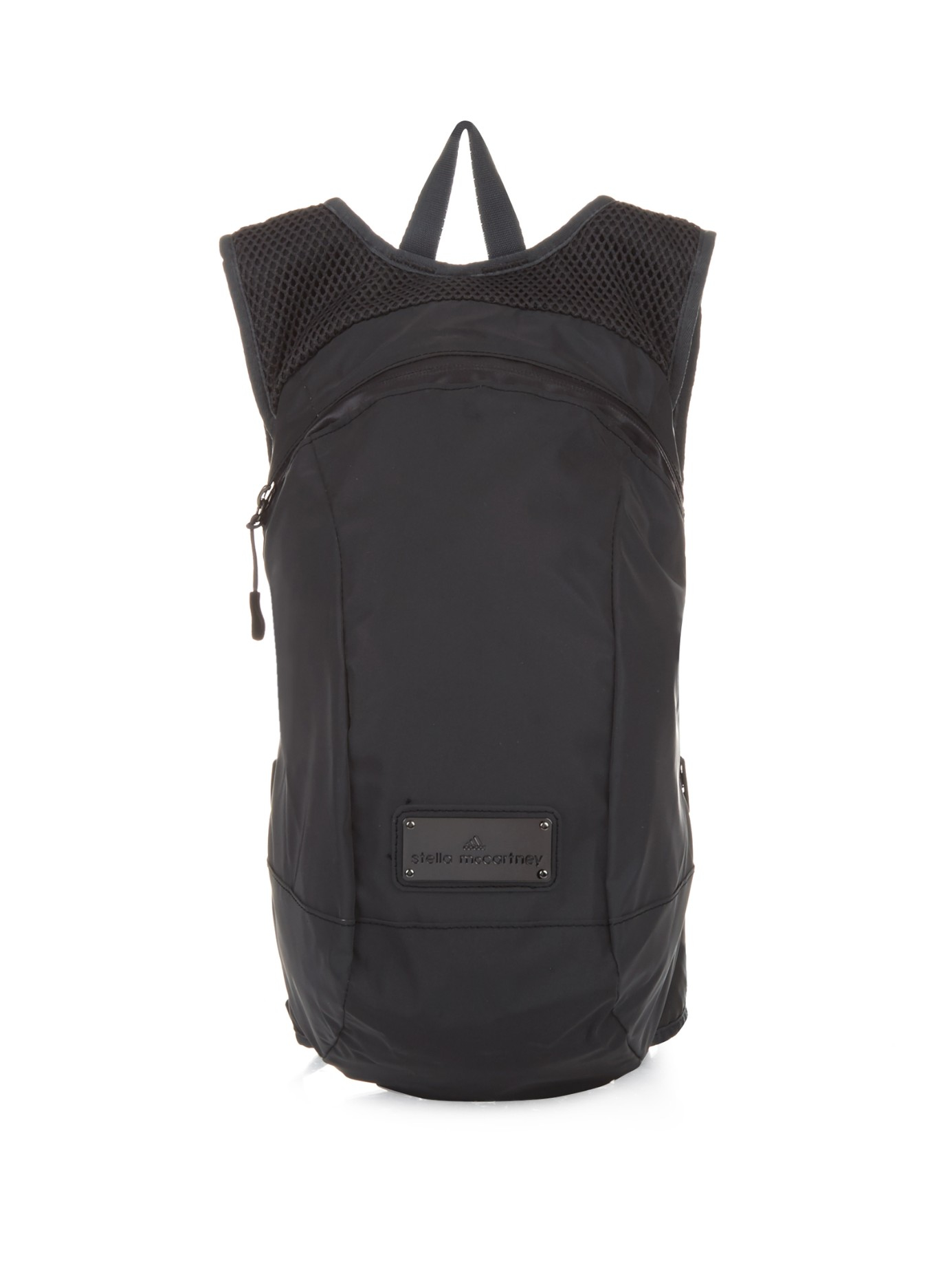 adidas by stella mccartney running backpack in black lyst. Black Bedroom Furniture Sets. Home Design Ideas