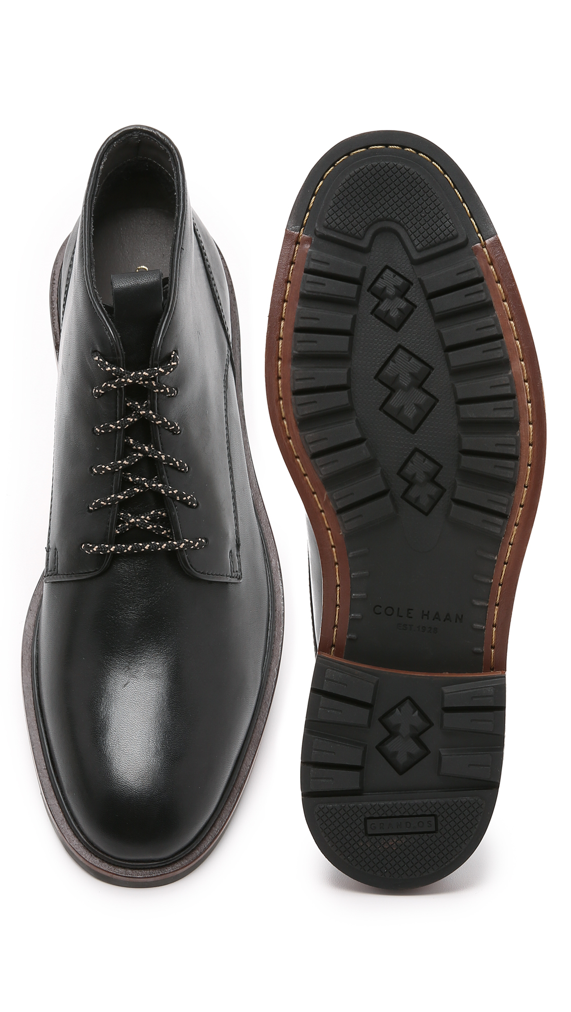 f08f317803e1 Lyst - Cole Haan Cranston Chukkas in Black for Men