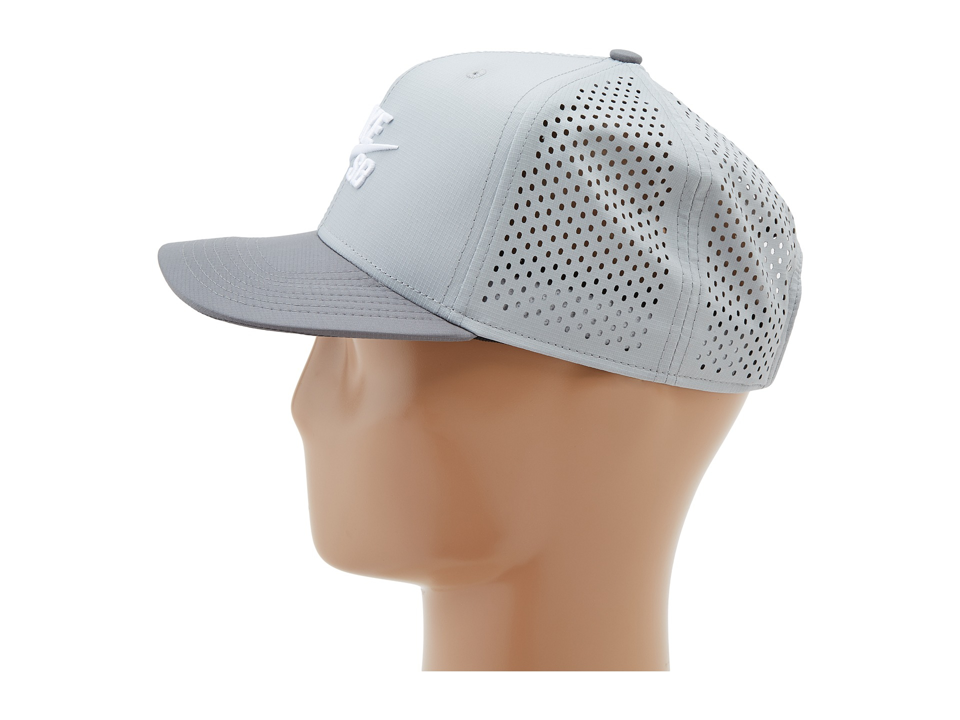check out 3b076 66cc0 Nike Performance Trucker Hat in Gray for Men - Lyst