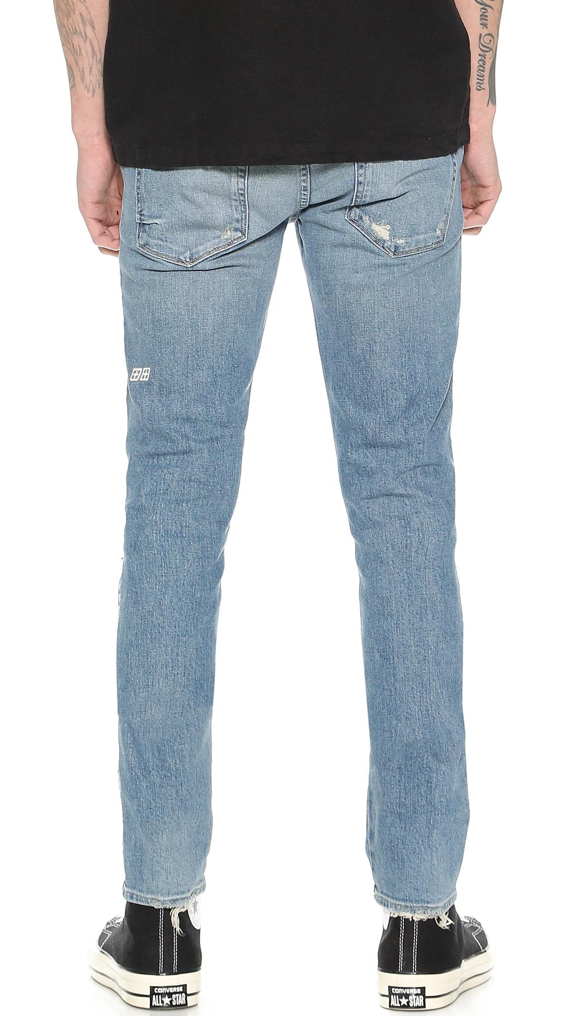Ksubi Denim Van Winkle Skinny Jeans in Blue for Men
