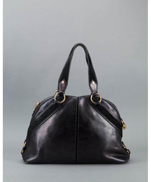 ysl black bag - yves saint laurent textured leather mini muse bag, yves saint ...