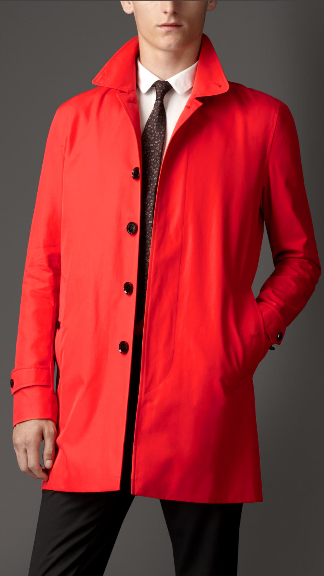 Red Car Coat