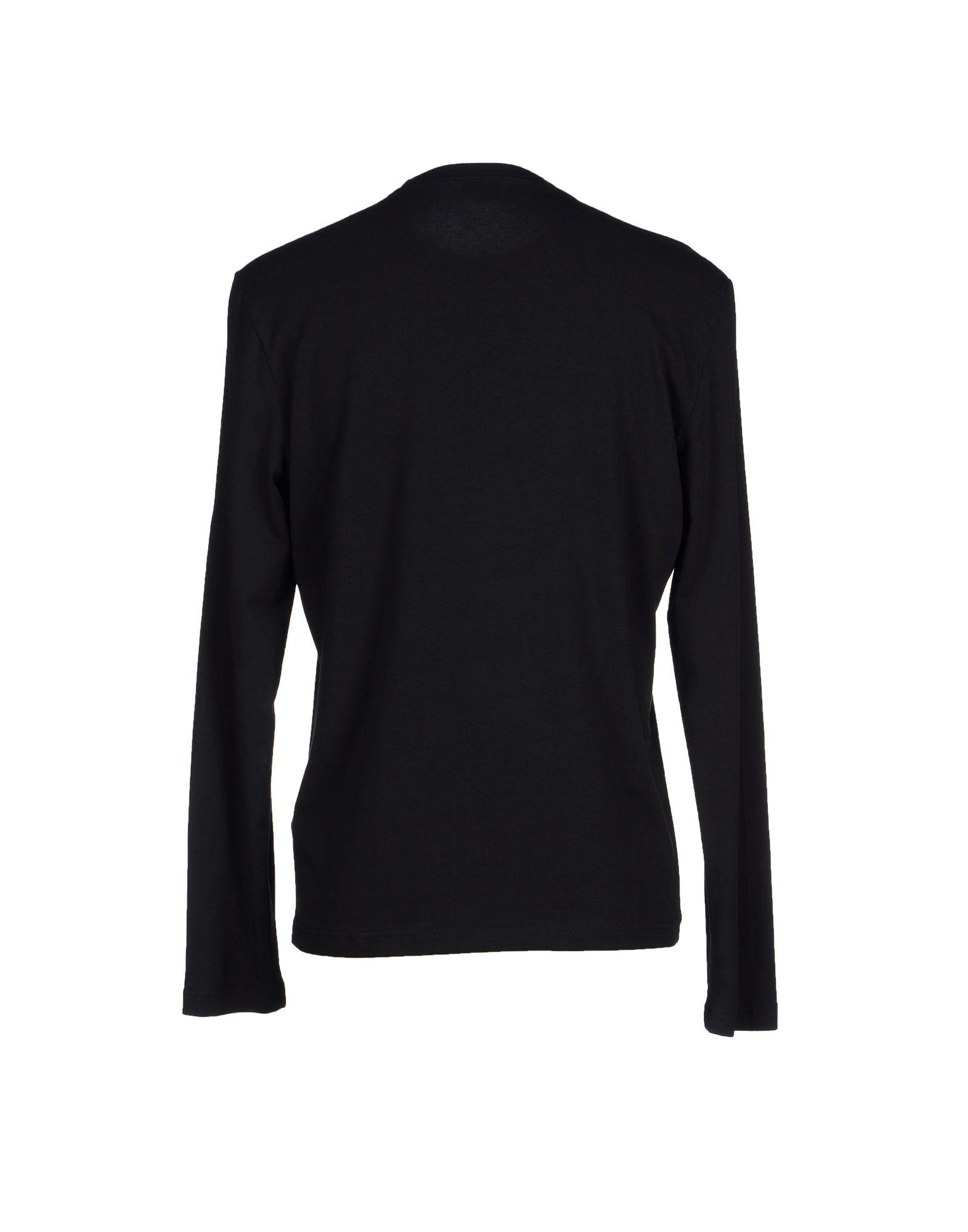 calvin klein jeans t shirt in black for men lyst. Black Bedroom Furniture Sets. Home Design Ideas