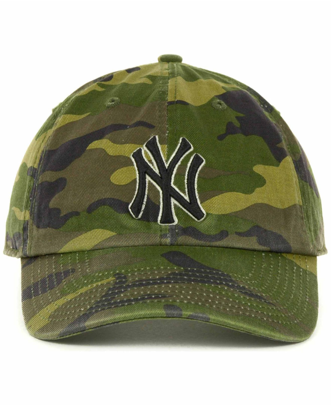 d1e96b6b18e ... switzerland lyst 47 brand new york yankees clean up hat in green for  men 52e32 a8d1a