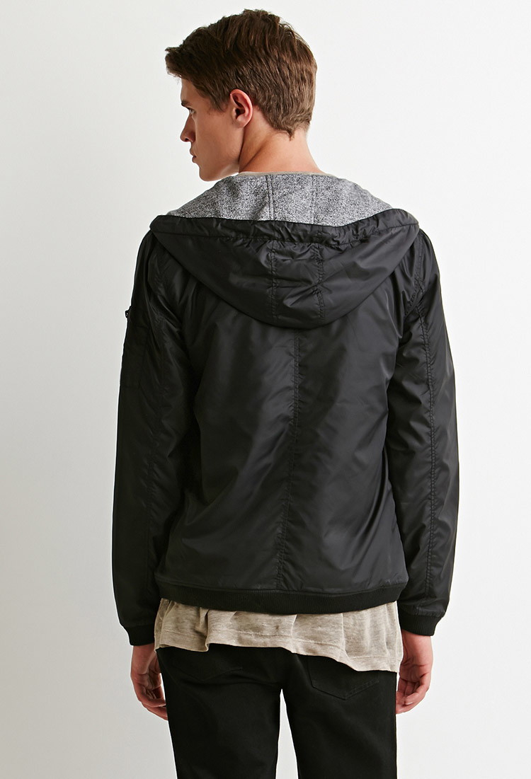 Bomber Hooded Jacket