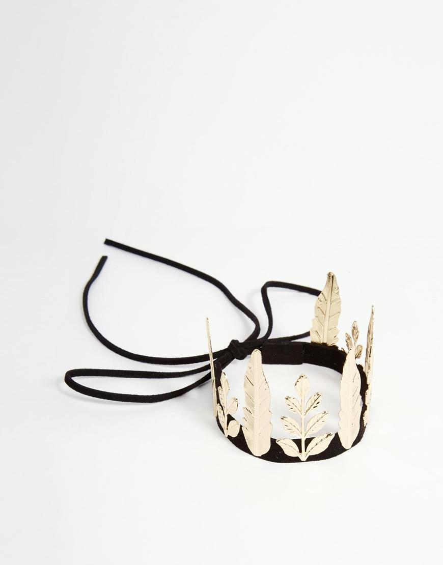 Gold Leaf Cat Ear Headband