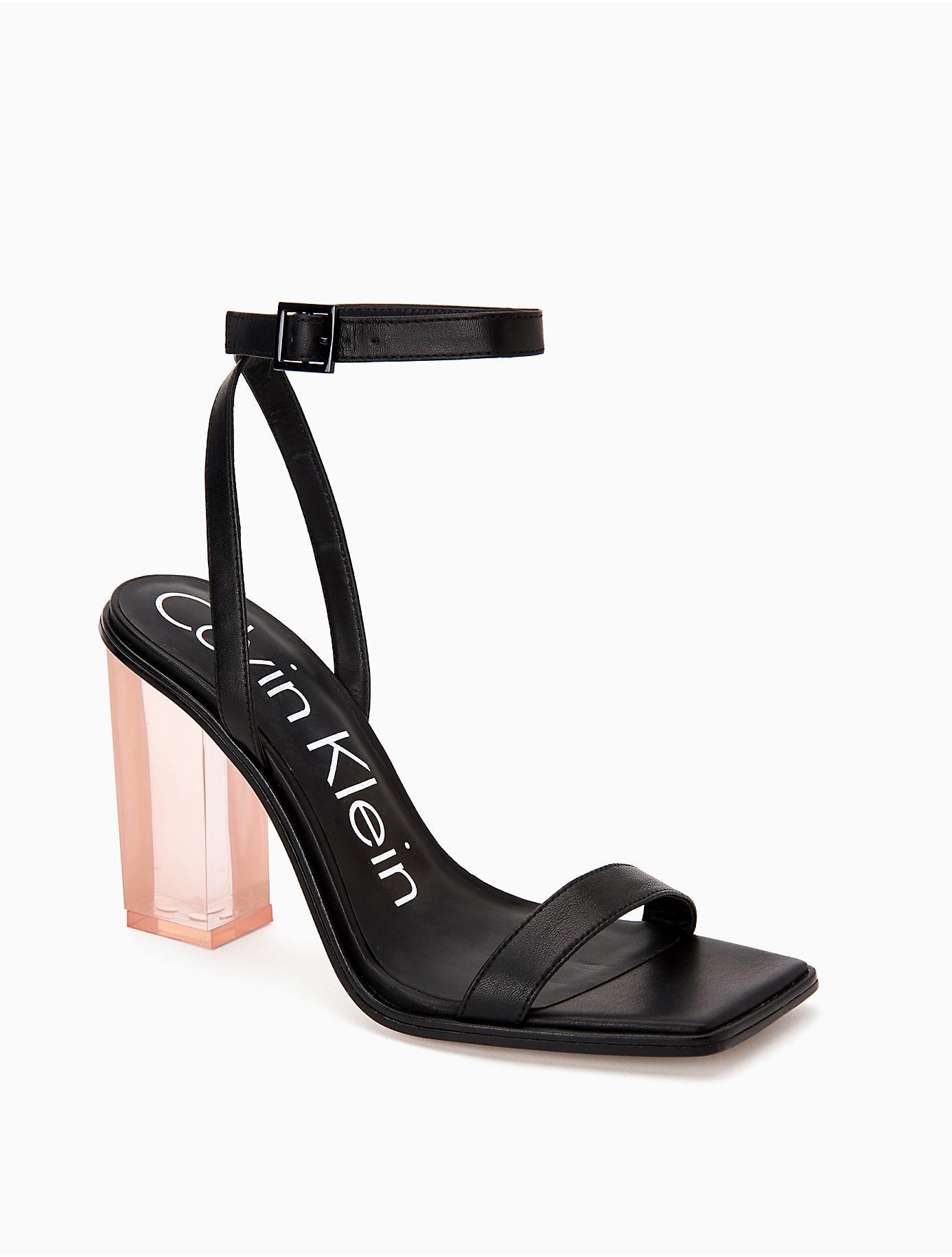 Calvin Klein Kim Cervo Block Heel Sandal zz1Ss25e