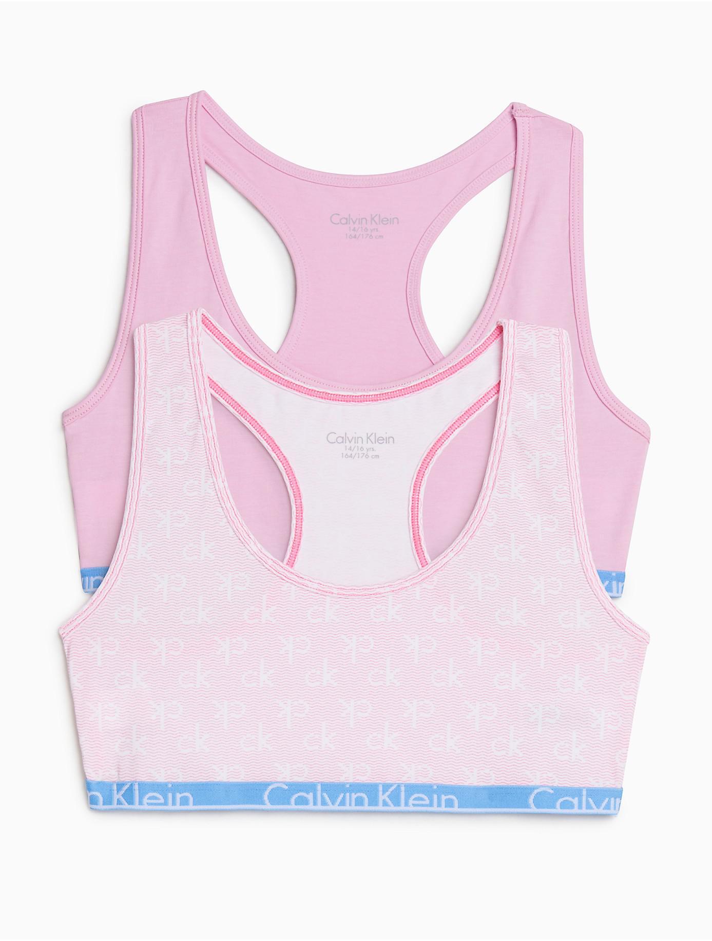 7b00dfebe91 Lyst - Calvin Klein 205W39Nyc Girls 2-pack Modern Cotton Bralette in ...