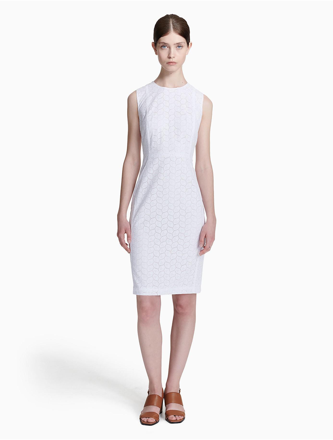 White Cotton Sheath