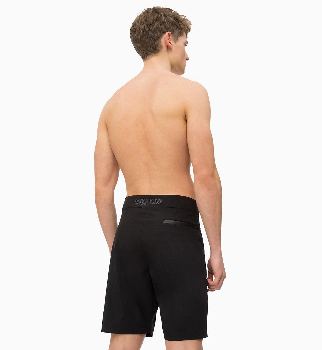 a9734e009a Calvin Klein - Black Boardshorts for Men - Lyst. View fullscreen