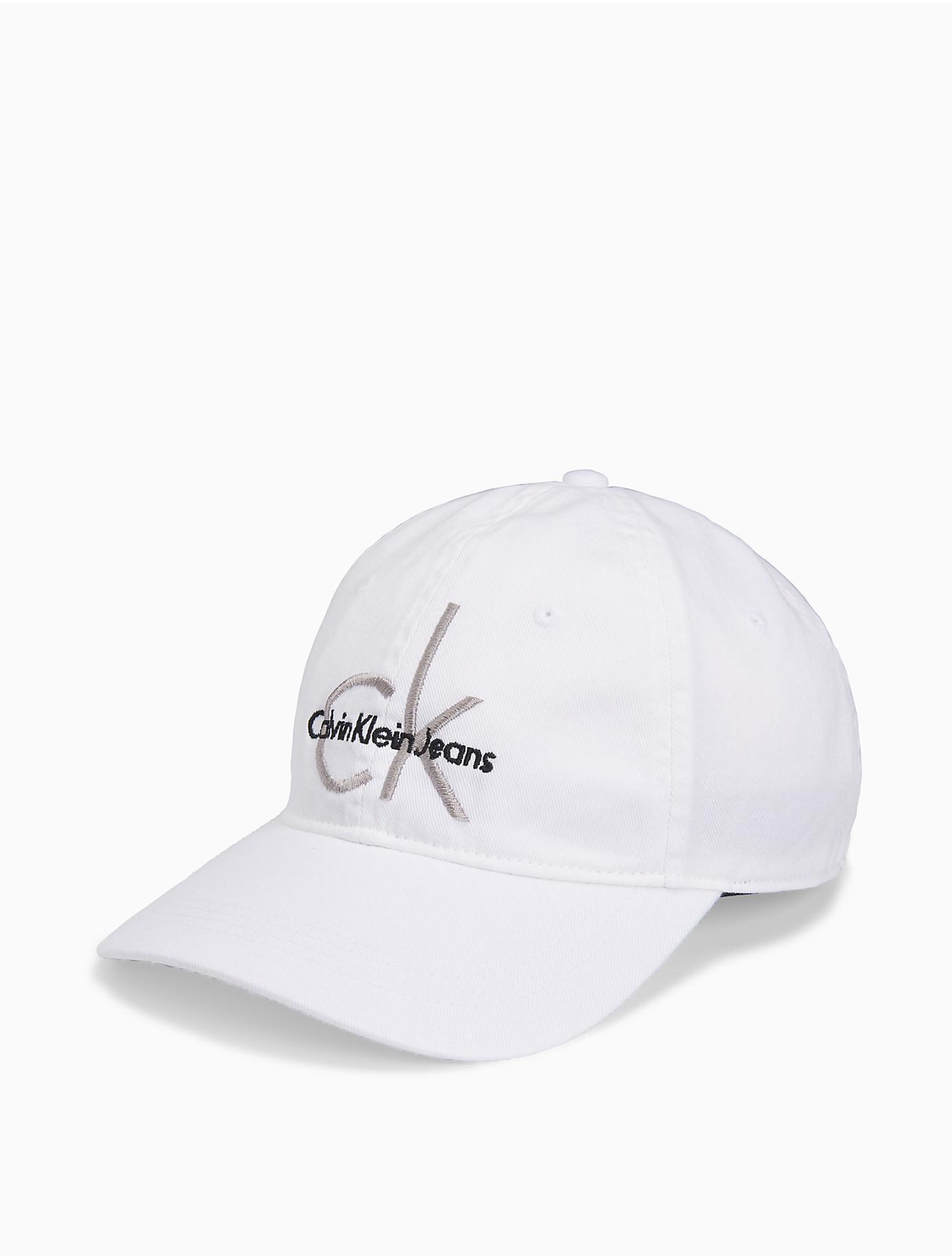 White Logo Cap CALVIN KLEIN 205W39NYC ZKrZHMoKur