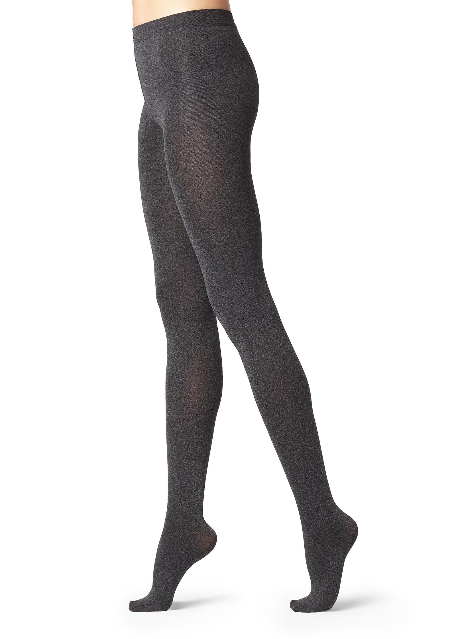 autentico numerosi in varietà fama mondiale Women's Gray Super Opaque Tights With Cashmere