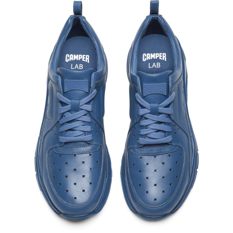 Camper Leather Sneakers in Blue
