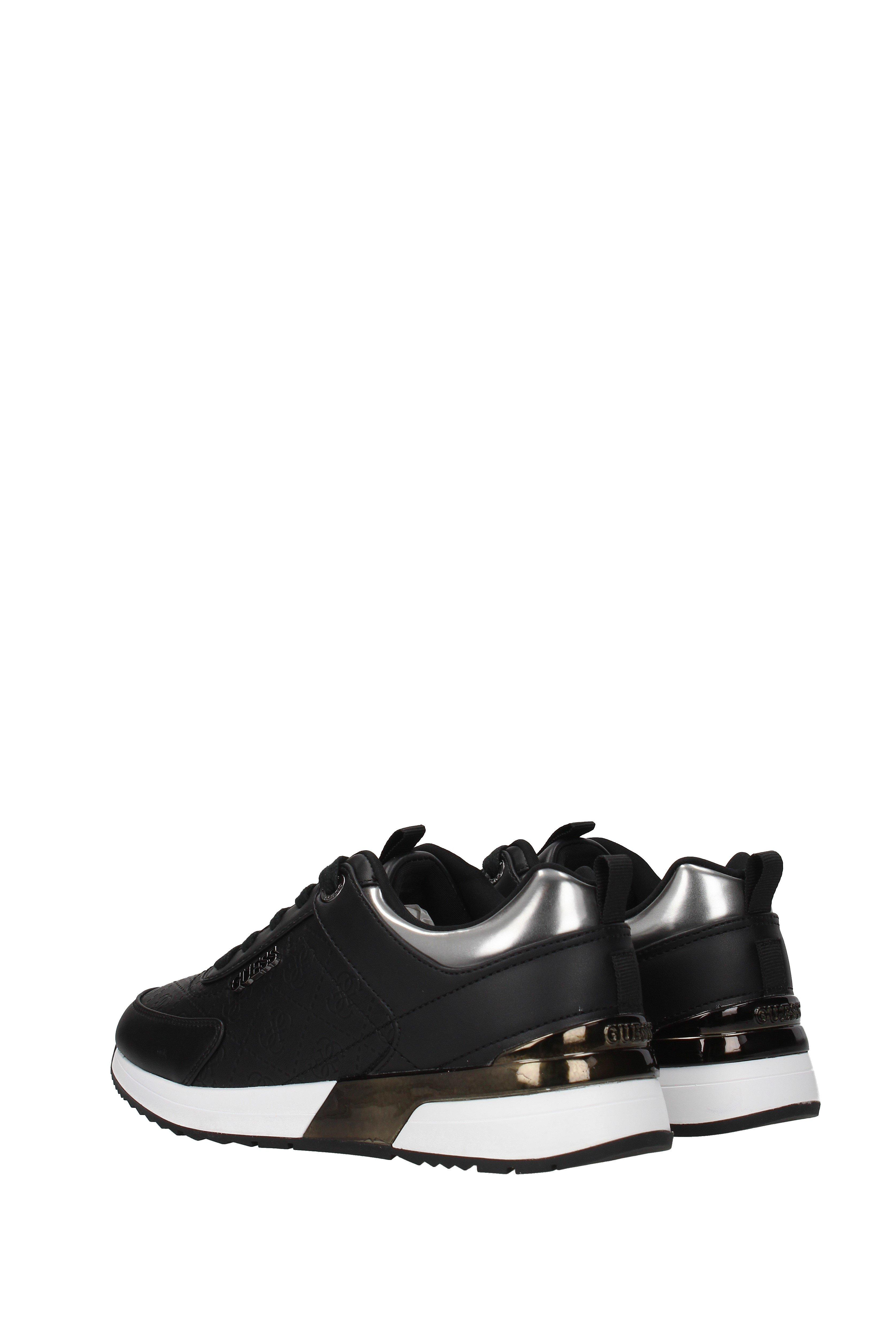 Guess Synthetic Sneakers Women Black - Lyst