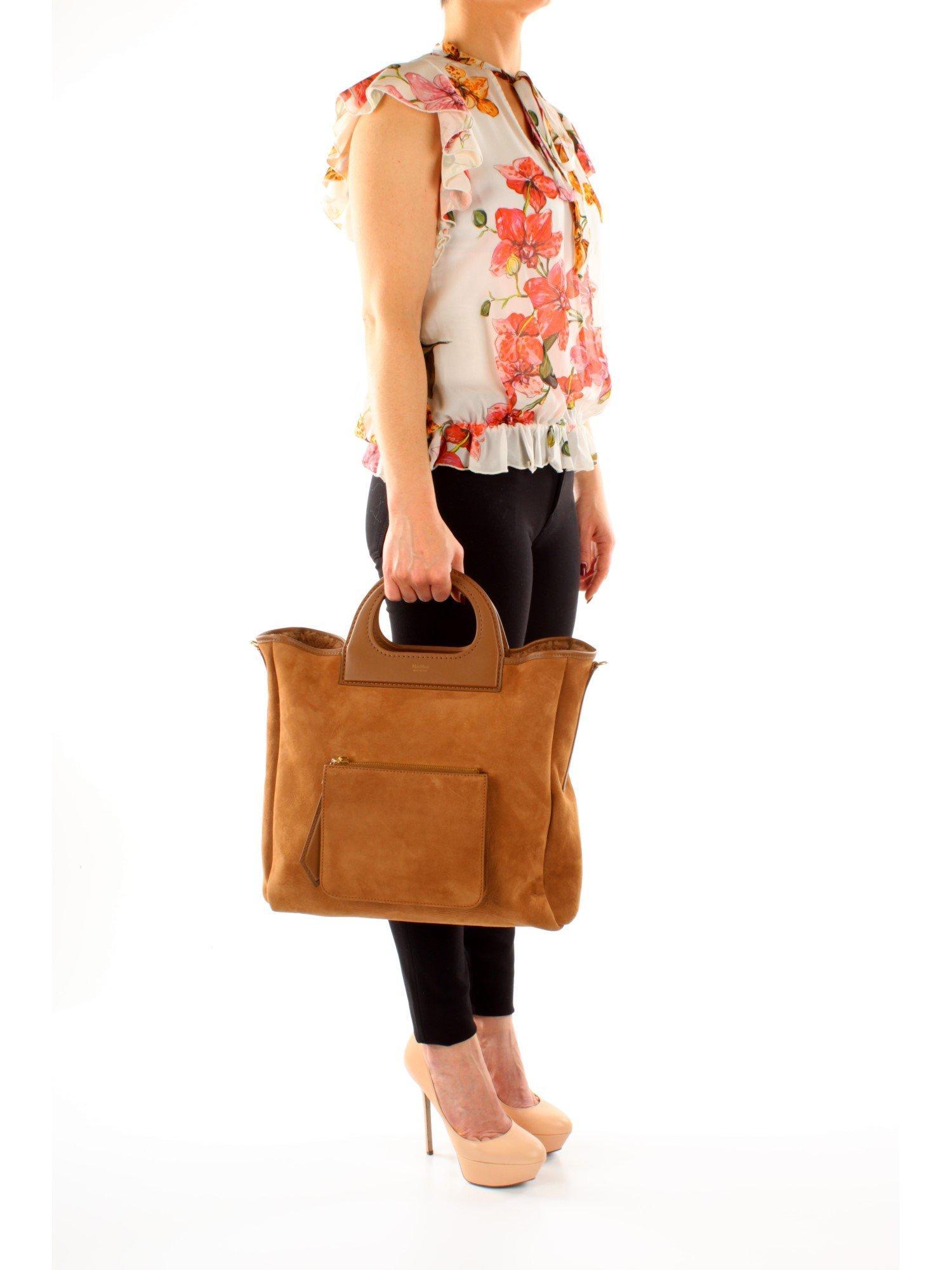 c38917aae Max Mara Handbags Grac11s Women Brown in Brown - Lyst