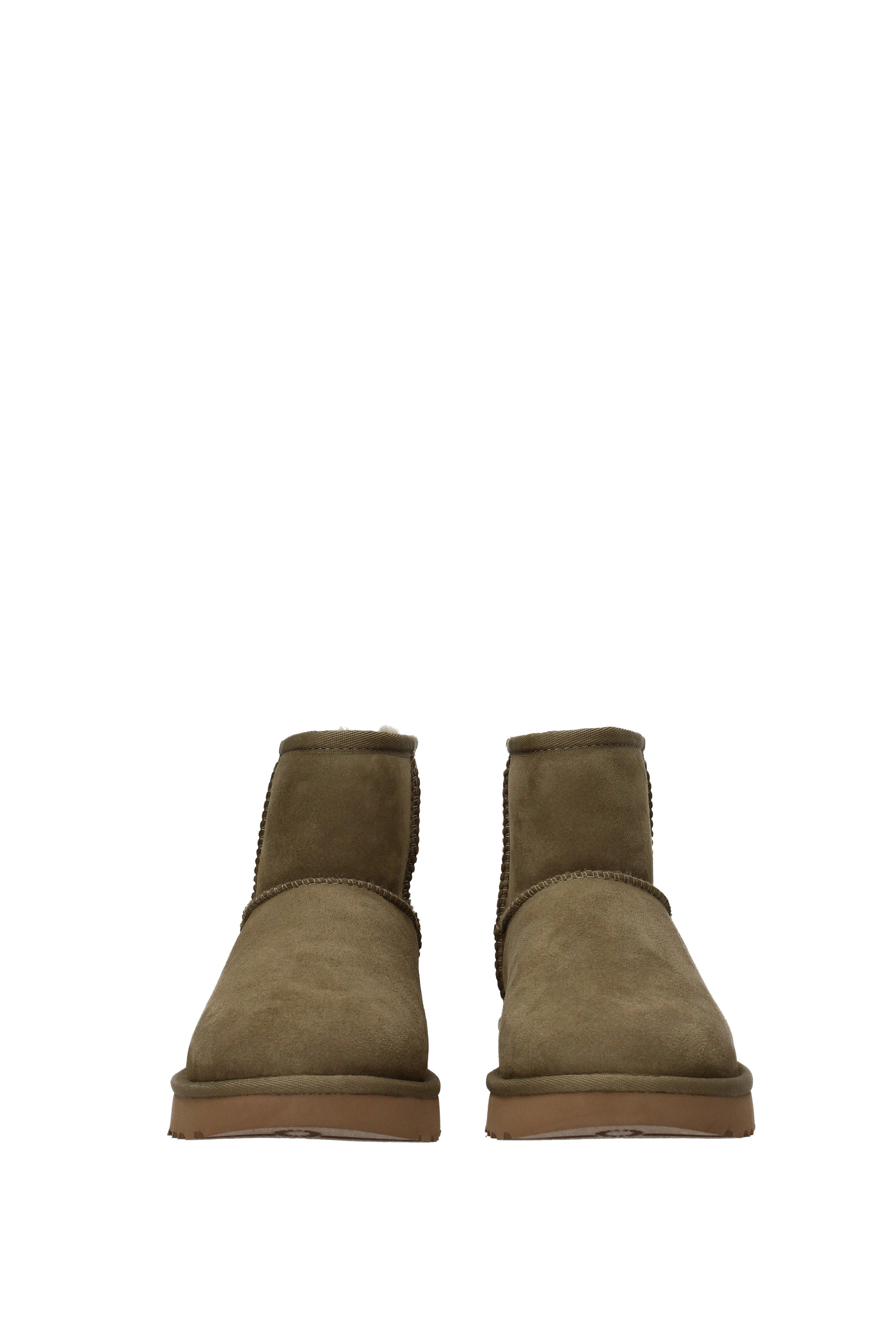 08b76c1409a UGG Ankle Boots Water Resistant Classic Mini Ii Women Green in Green ...