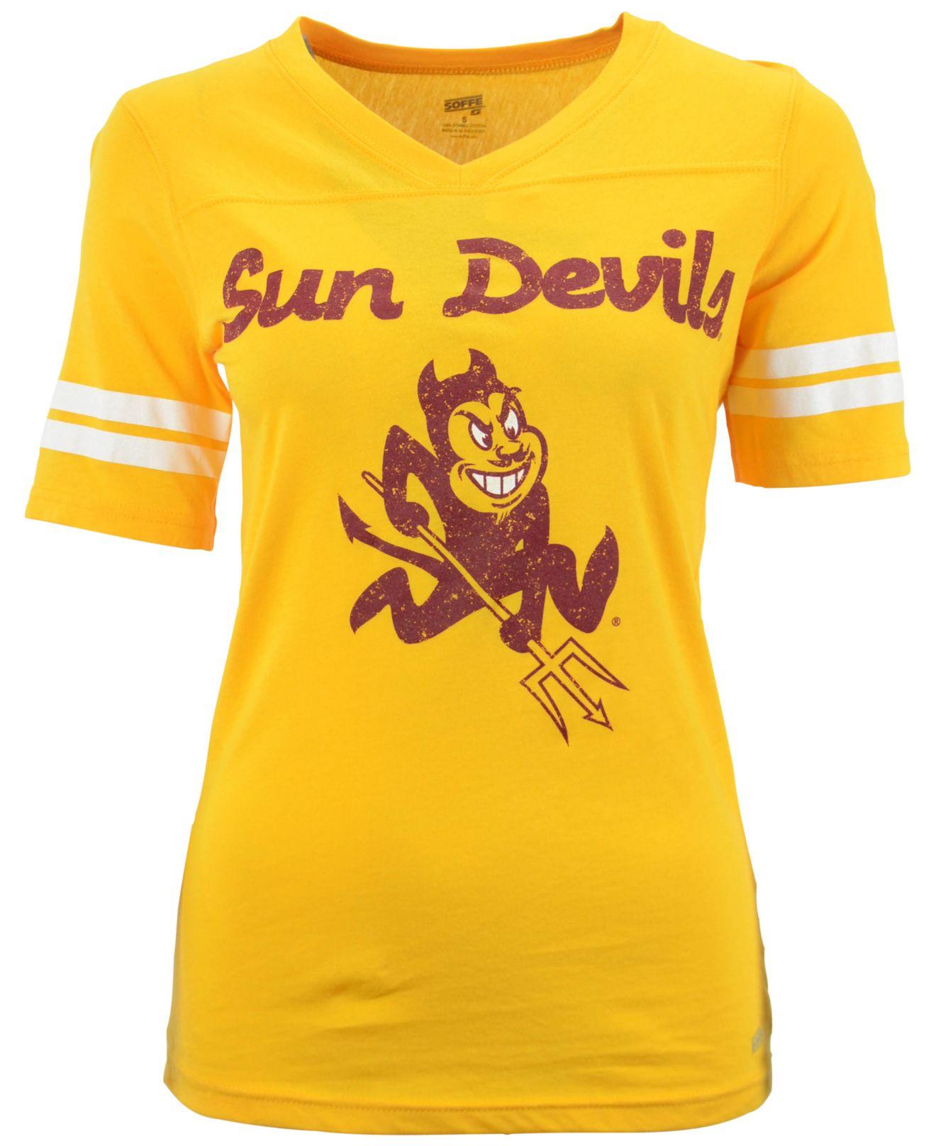 Lyst - Soffe Women S Short-Sleeve Arizona State Sun Devils T-Shirt ... 39690f2c1