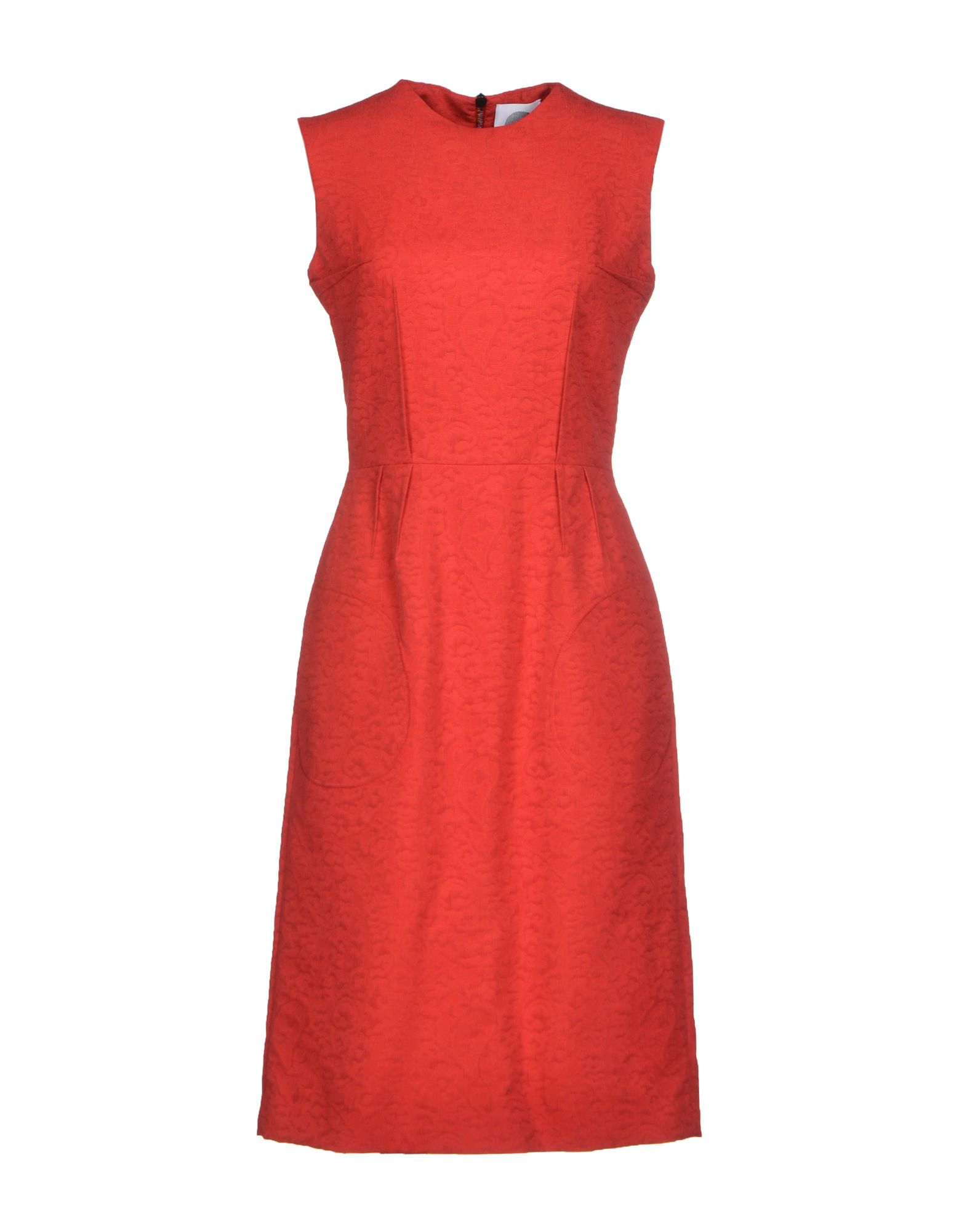 aganovich red knee length dress formal dresses product 1 24884274 1 452782370 normal