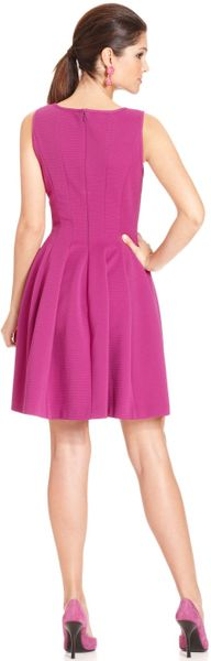 Betsey Johnson Sleeveless A Line Party Dress In Purple Lyst