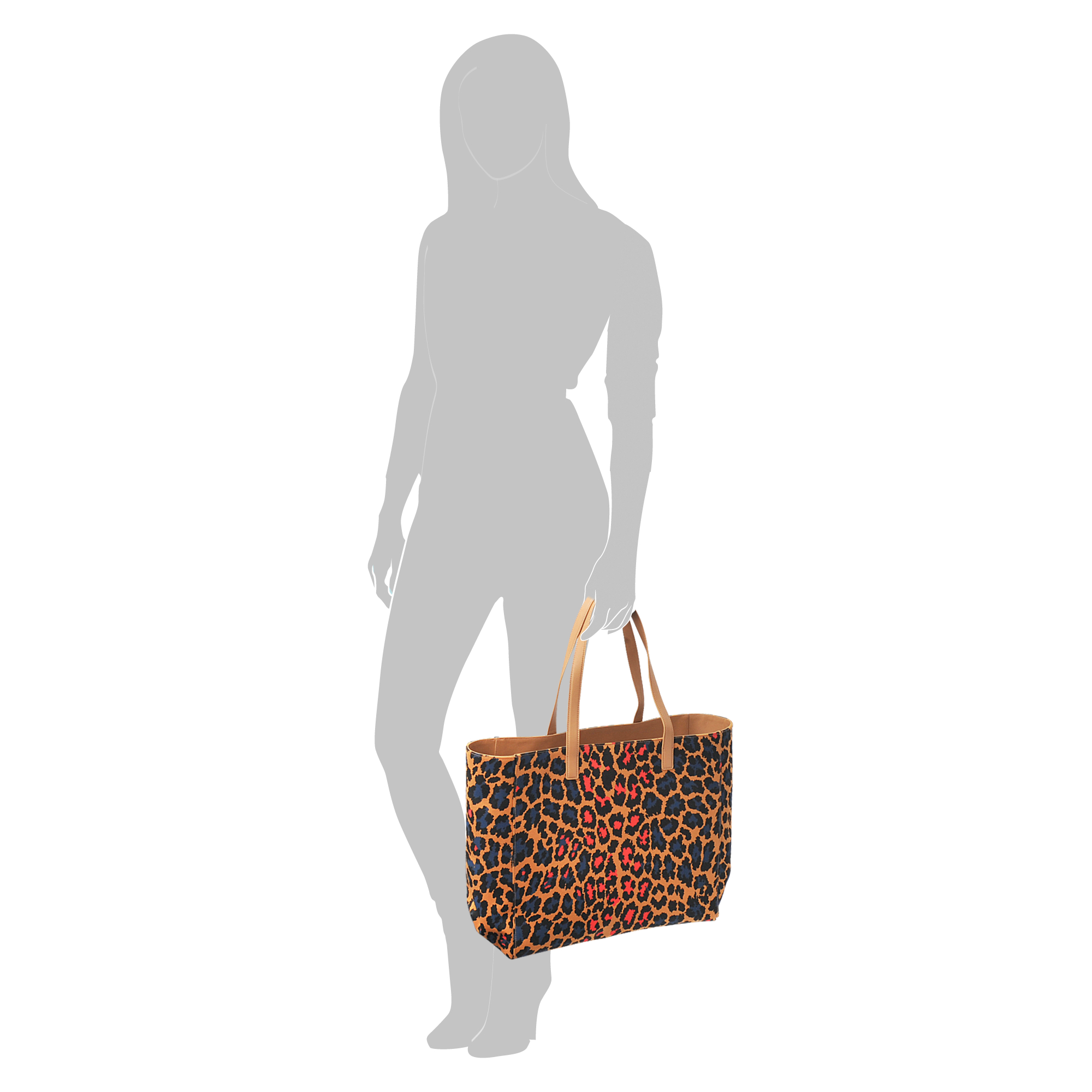 Christopher Kane Leopard-print Canvas Tote in Brown