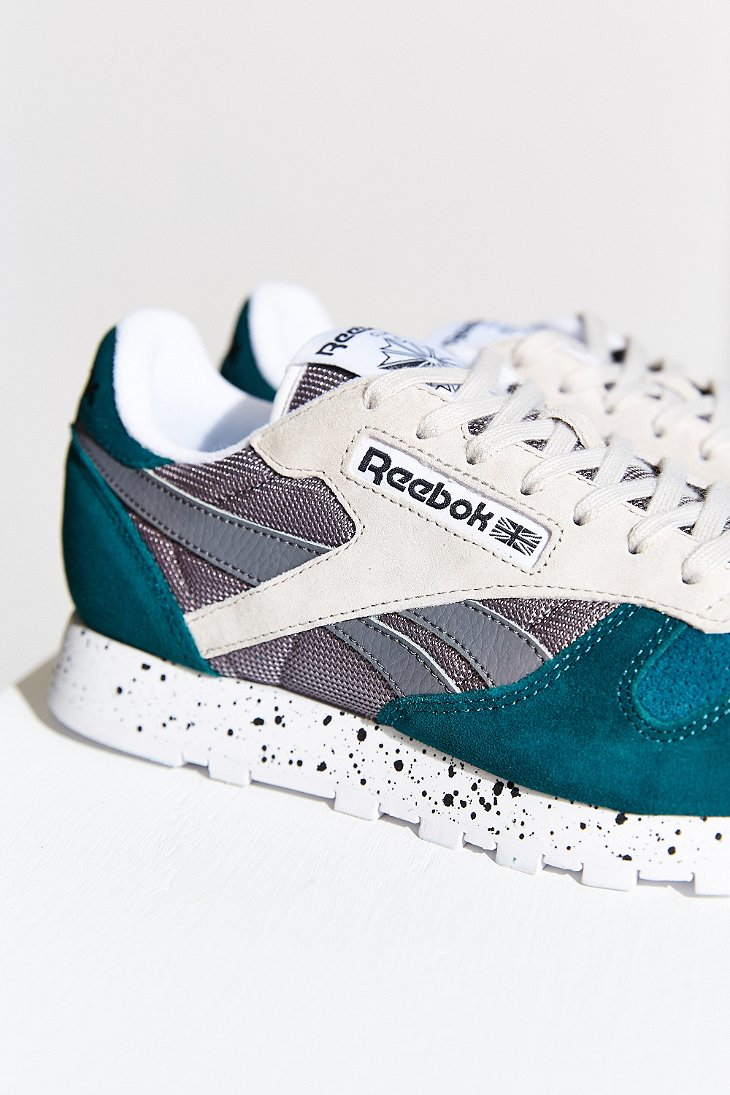 Reebok Classic Leather Sm Running Sneaker in Natural - Lyst